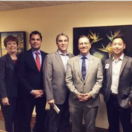 bomagla members meeting with councilmember bob blumenfield